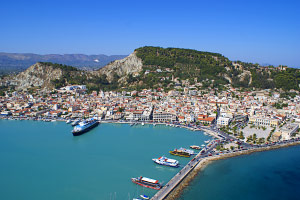 Location - Alba Hotel - Zante Town Zakynthos Greece